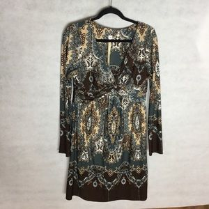 (Anthropologie - uncle frank) patterned dress